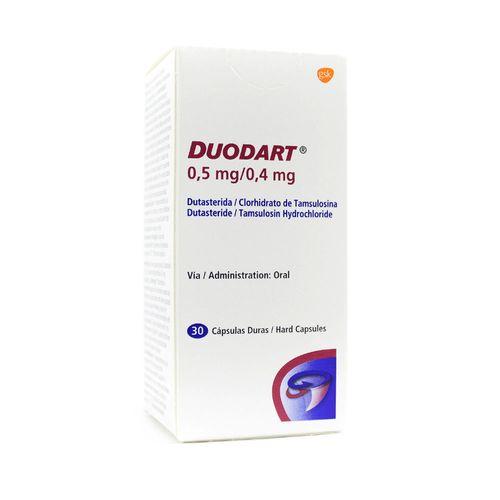 Duodart Capsulas 0 5mg 0 4mg Farmacia Pasteur Pasteur