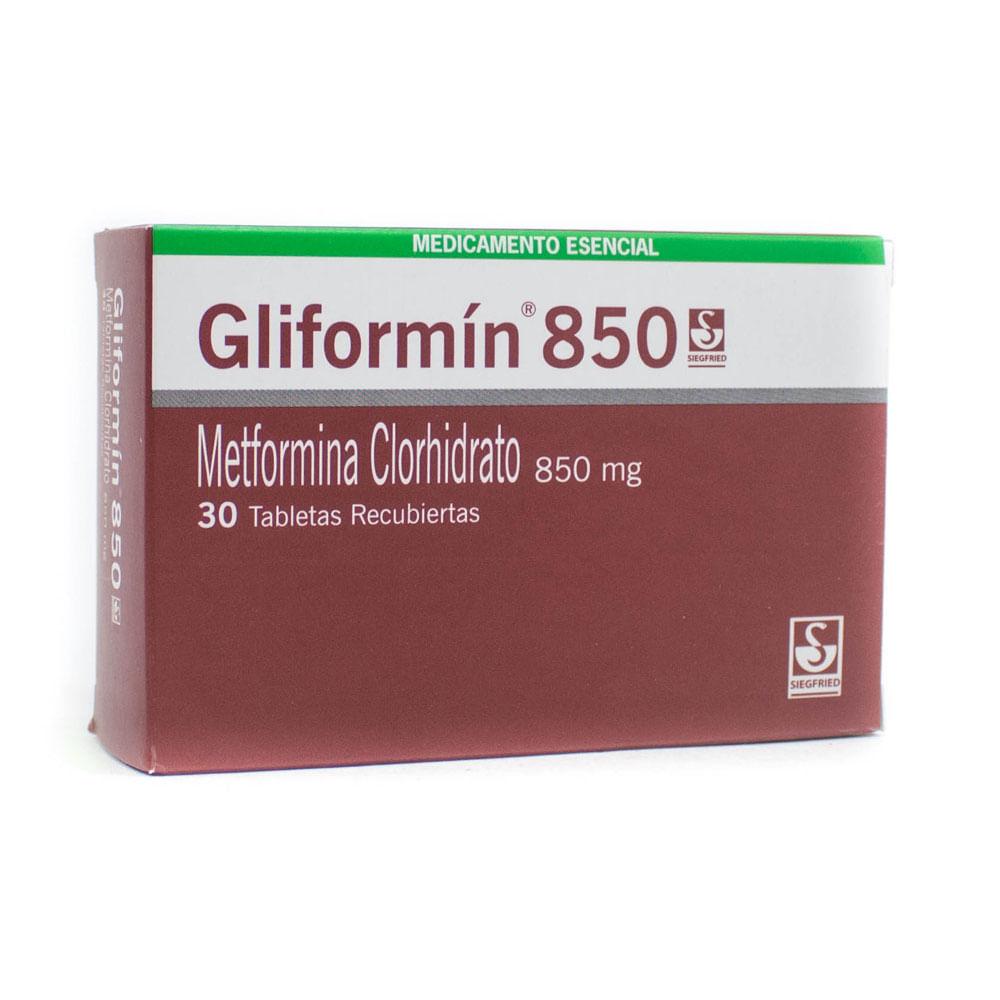 metformina 850 mg 30 tabletas para que sirve