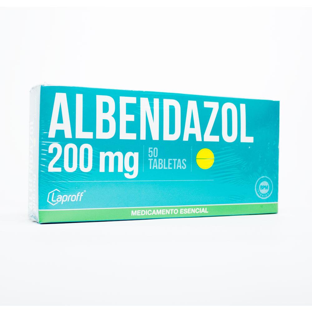 como tomar albendazol 200 mg 2 tabletas