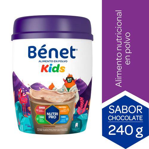 BENET-KIDS-ALIMENTO-POLVO-CHOCOLATE-240-G